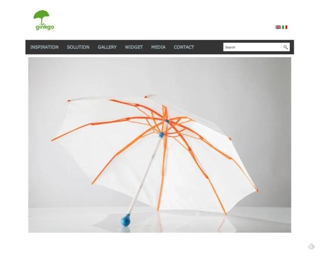Ginkgo Umbrella