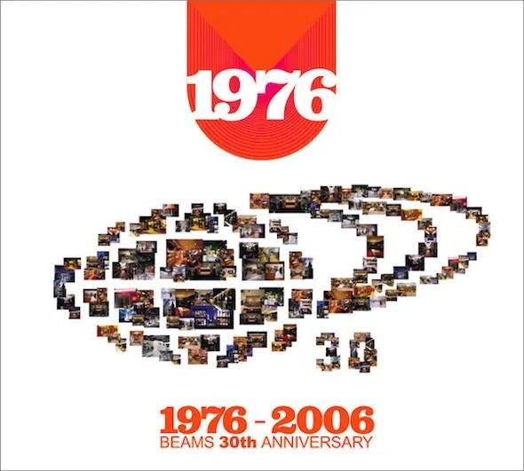 ビームス30周年のお洒落カヴァーコンピ『1976-2006 ~BEAMS 30th ANNIVERSARY~』(2006年作品)