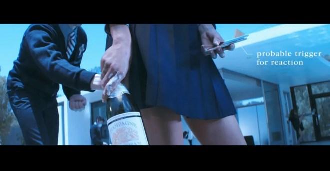 パンチラの報復は恐い!?プラシーボ『Too Many Friends』のビデオがおもしろい