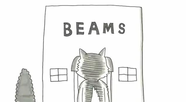 鉄拳 × BEAMSコラボ「パラパラ漫画」動画 クリスマスまでの限定公開が最終日