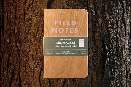 Field Notes 新カラー商品「Shelterwood」が新登場