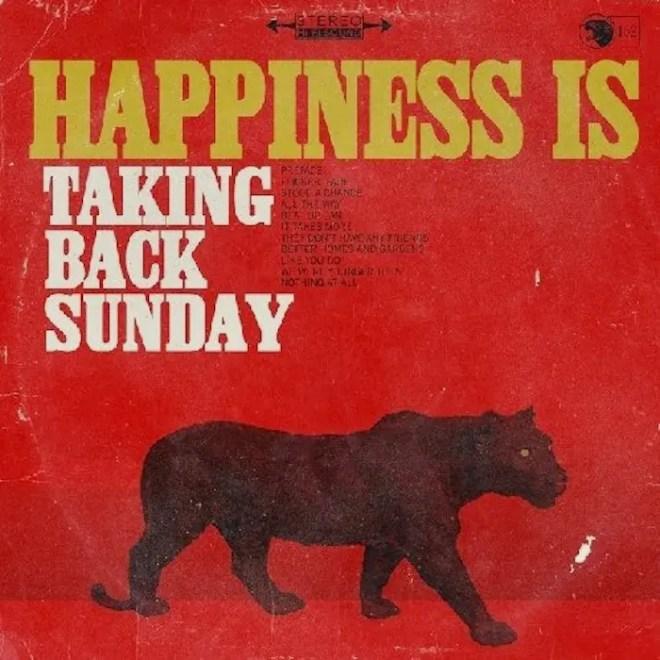 Taking Back Sunday/テイキング・バック・サンデイ新作『ハピネス・イズ』3月19日発売 (2014年作品)