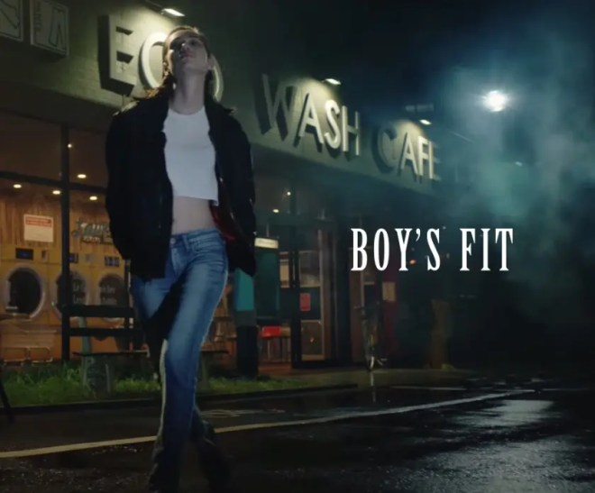 Kiko Mizuhara EDWIN SOMETHING SLIM FIT AND BOYS FIT 04