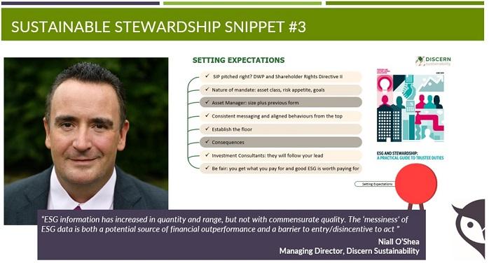 Sustainable Stewardship