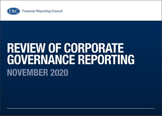 FRC criticises inconsistent corporate governance reporting