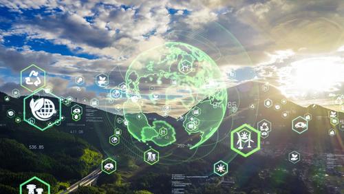green data concept image