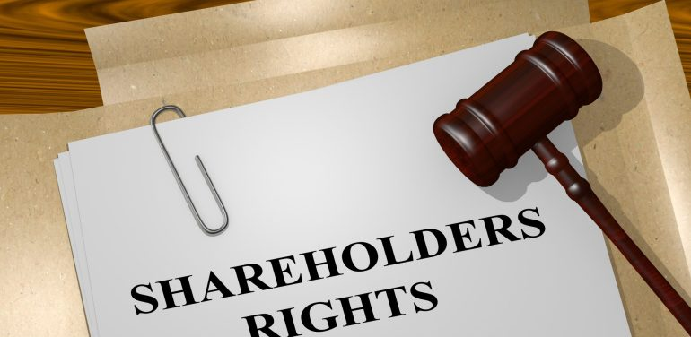 Shareholders, rights