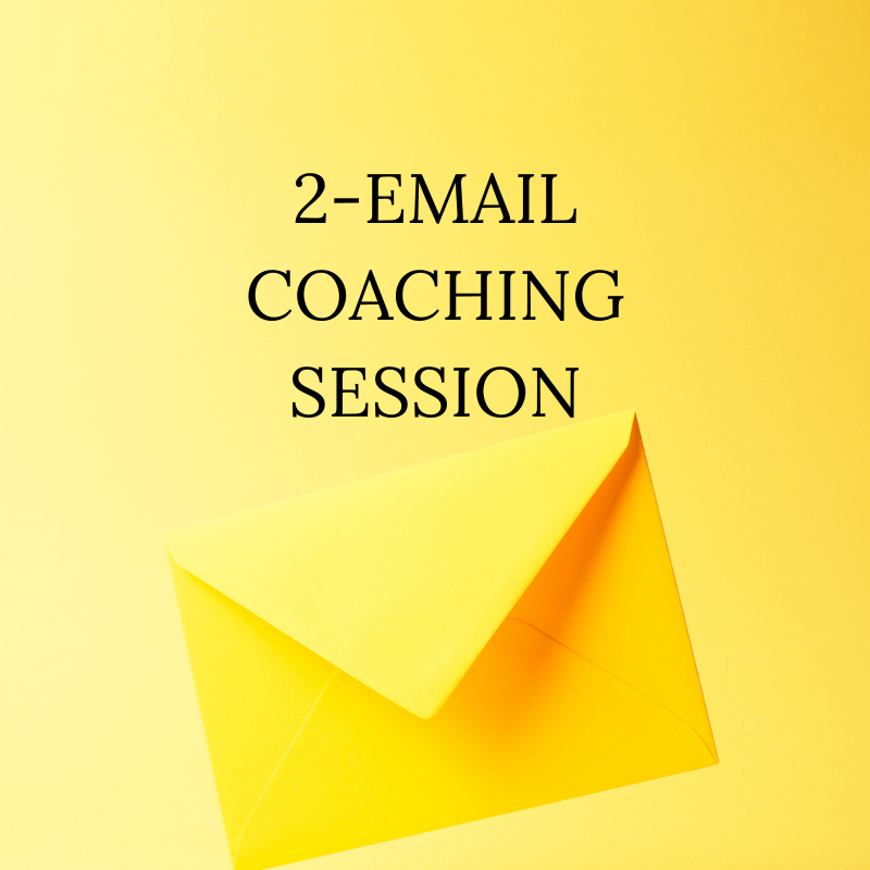 2-Email Coaching Session