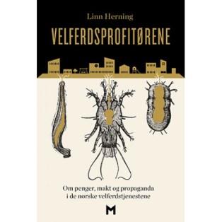 Velferdsprofitørene - Om penger, makt og propaganda i de norske velferdstjenestene (2015). Forfatter: Linn Herning.