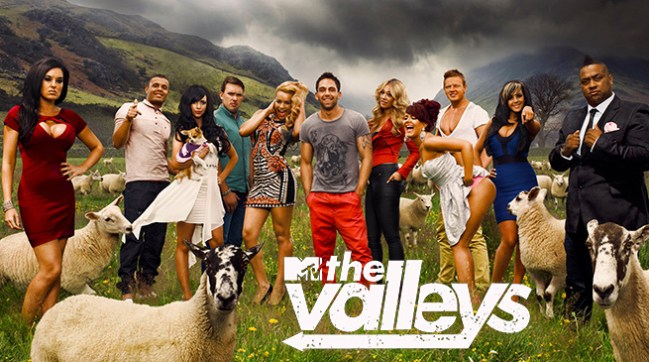 TV-serien The Valleys handler om sosiale problemer i Wales. Foto: MTV