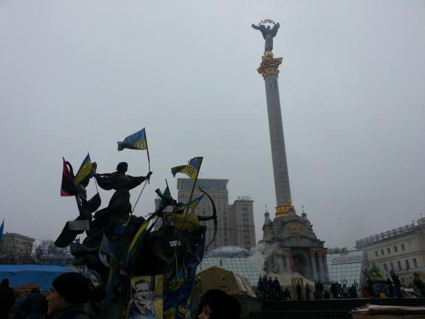 Euromaidan. Foto: Mina Skouen