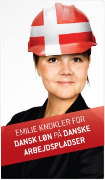 En Socialistisk Folkeparti-kampanje fra 2011.