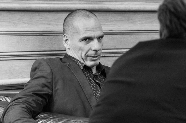 DiEM25-grunnlegger Yanis Varoufakis. Foto: Marc Lozano