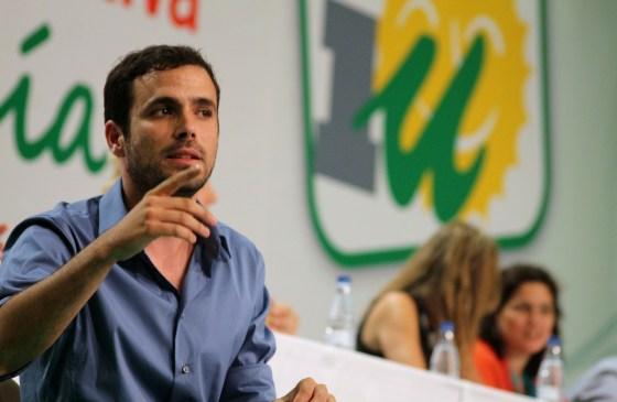 Izquierda Unida-leder Alberto Garzón. Foto: IU Andalucía