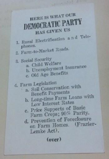Traust populisme: Kjedelig font, masse resultater. Foto: Legislative Reference Library of Texas.