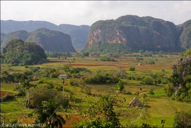 Landskap fra Viñales-dalen vest på Cuba. Foto: Seb *