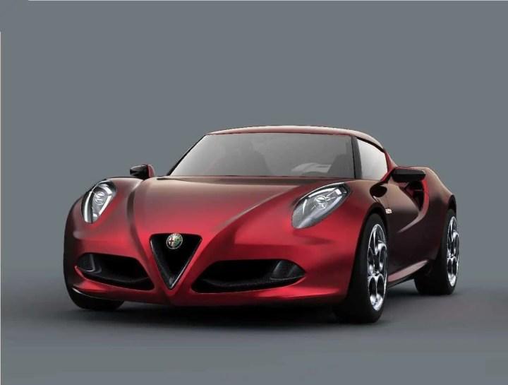 Alfa Romeo 4C -1