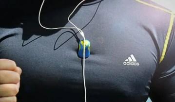 Klingg magnetic earphone cord holder