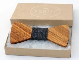 houten strik