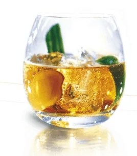 Cognac ginger ale