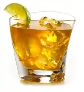 Ice tea whisky