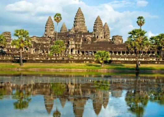 Angkor Wat Temple, Cambodja