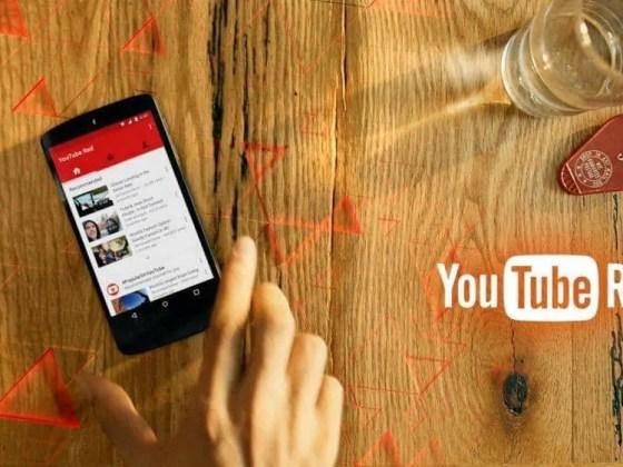 YouTube Red header