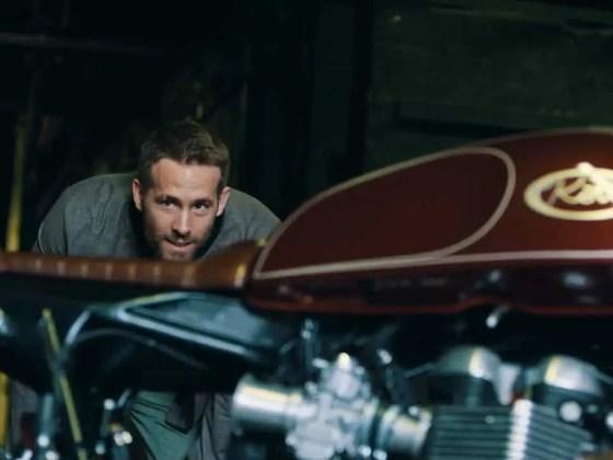 Ryan Reynolds' Triumph Thruxton