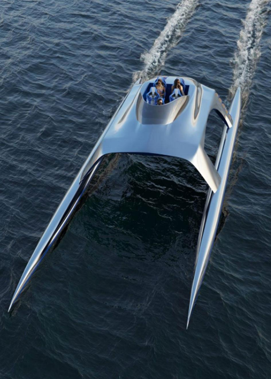 Glider yachts SS18