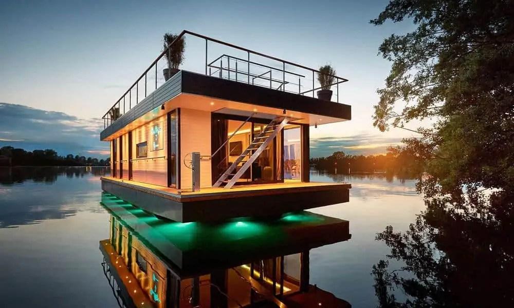 rev house een drijvend penthouse. Black Bedroom Furniture Sets. Home Design Ideas