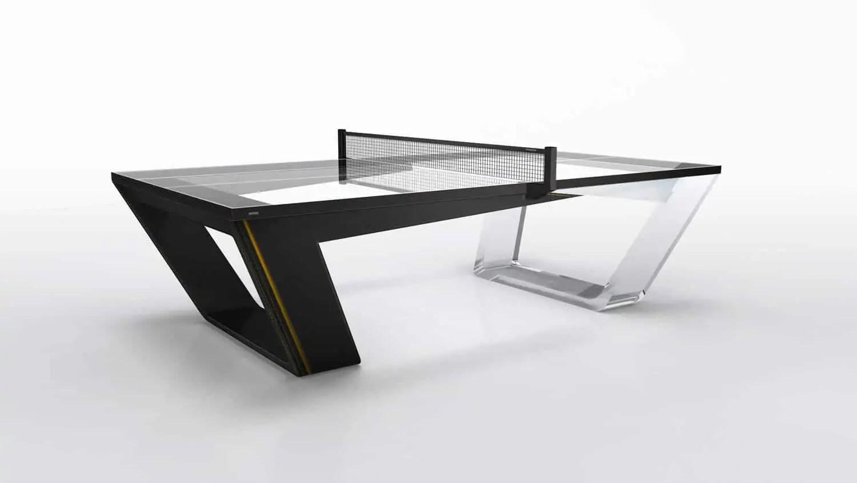 dit geen kunstwerk maar een tafeltennistafel. Black Bedroom Furniture Sets. Home Design Ideas