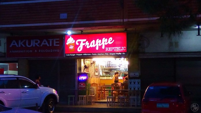 View of Frappe Republic from the outside.