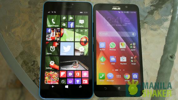 lumia 640xl vs asus zenfone 2 ze551ml review comparison (1 of 9)