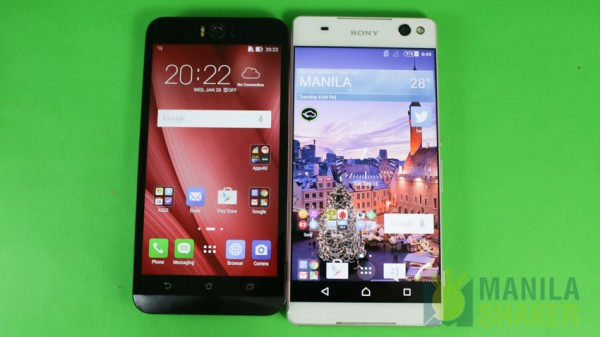 asus zenfone selfie unboxing hands on comparison first impressions philippines features specs price (9 of 21) vs xperia c5 ultra