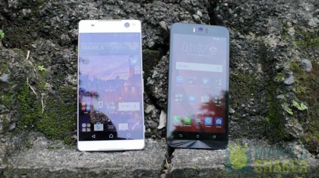 sony xperia c5 ultra vs asus zenfone selfie comparison review philippines price specs (2 of 3)