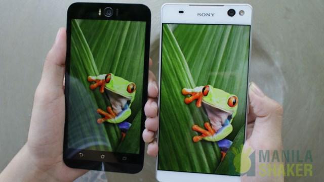 sony xperia c5 ultra vs asus zenfone selfie comparison review philippines price specs (6 of 7)