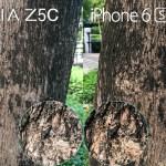 iphone 6s vs xperia z5 compact camera flash