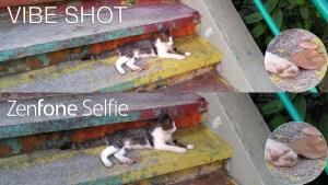 zenfone selfie vs vibe shot camera review comparison
