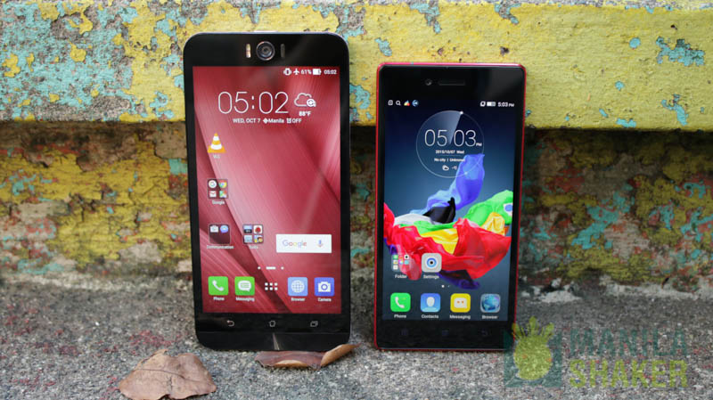 Asus ZenFone Selfie vs Samsung Galaxy J7 Comparison - YouTube