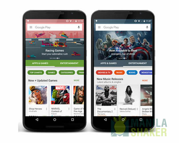 Google Play Store Will Get A UI Makeover