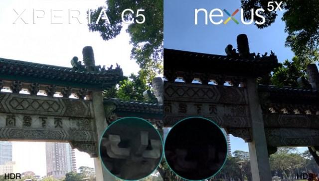 xperia c5 ultra vs lg nexus 5x camera review comparison7