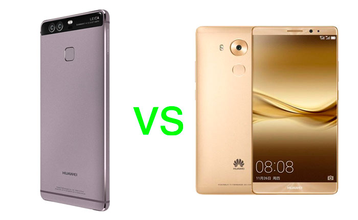 Huawei P9 Vs Mate 8 Specs Comparison What S Their