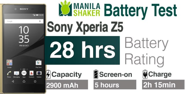 sony xperia z5 battery review android marshmallow philippiens