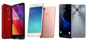Budget Android Zenfone 2 Laser 5.5S vs Oppo A37 vs Samsung Galaxy J3 Pro Price Specs Review Comparison price Ph