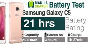 Samsung Galaxy C5 Battery Life Endurance Rating Review