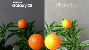 Samsung Galaxy C5 vs iPhone 6s Camera Review 1