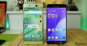Sony Xperia XA Ultra Review vs Samsung Galaxy A9 Comparison 12