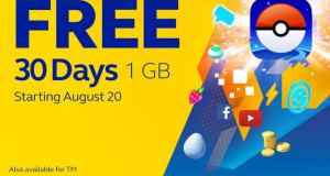 Pokemon Go Globe Free Data Philippines