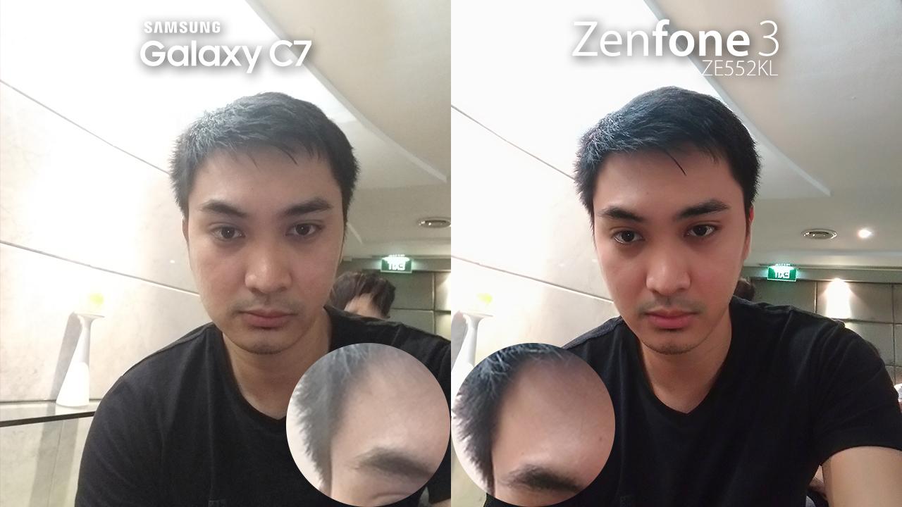 Samsung Galaxy C7 Vs Asus ZenFone 3 Review Camera Comparison