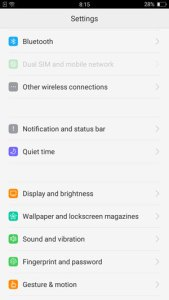 Oppo F1s Review OS Software Color 3.0 PH